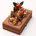 クリスマスケーキ 2018 チョコレートケーキ ショコラブルターニュ長さ約17cm 予約