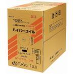 富士電線 LANケーブル カテゴリー6 TPCC6 0.5mmX4P 300m巻 薄青