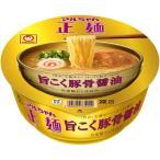 東洋水産 マルちゃん正麺カップ豚骨醤油