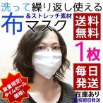 数量限定特別価格 送料無料 夏用マスク 布マスク  白マスク 洗えるマスク 夏マスク ホワイト 1枚