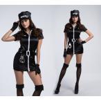 ハロウィン コスプレ 警察  婦人 警官 婦警 仮装 制服 レディース クリスマス イベント パーティーグッズ
