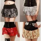 新品 アウトレット ダンス衣装 スカート スパンコール