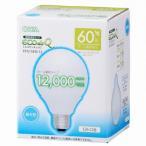 オーム 電球型蛍光灯 「エコデンキュウ」G型 E26/60形 昼光色 EFG15ED/12