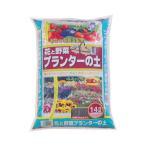 あかぎ園芸 プランターの土 14L 4袋【包装・熨斗対応不可商品】(代引不可)