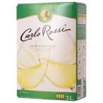 大容量 アメリカ カルロ ロッシ カリフォルニア ホワイト 3000ml バッグインボックス ボックスワイン カリフォルニア 西濃運輸 出荷不可 wine