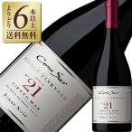 よりどり6本以上送料無料 コノスル ピノノワール シングルヴィンヤード No.21 2015 750ml 赤ワイン チリ