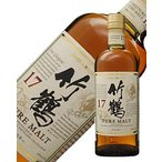 ウイスキー ニッカ 竹鶴 17年 ピュアモルト スリムボトル 43度 700ml 洋酒 whisky