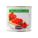モンテベッロ(スピガドーロ) オーガニック(有機栽培) ダイストマト(角切り) 2550g 1梱包6缶まで 西濃運輸 出荷不可