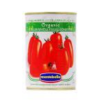 トマト缶 モンテベッロ(スピガドーロ) オーガニック ホールトマト(丸ごと) 400g 食品 包装不可