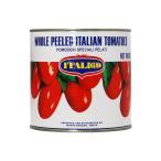 トマト缶 モンテベッロ(スピガドーロ) ホールトマト(丸ごと) 2550g 食品 1梱包6缶まで canned tomatoes 包装不可