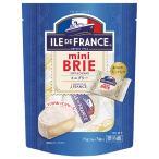 フランス産 白カビ チーズ イル ド フランス ミニブリー  個包装 75g(25g×3P) 食品 包装不可 要クール便 ワイン(750ml)11本まで同梱可