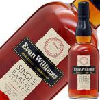 ウイスキー エヴァン ウィリアムス シングルバレル 43.3度 正規 750ml バーボン 洋酒 whisky