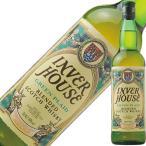 ウイスキー インバーハウス グリーンプレイド 40度 正規 箱なし 700ml スコッチ 洋酒 whisky
