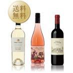 ワインセット 軽やかで優しい果実味 春ワイン 3本セット 第4弾 750ml×3  送料無料 wine set 包装不可