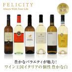 ポイント5倍 白ワインセット ワイン王国「イタリア」の白ワイン6本セット 第5弾 750ml×6 送料無料 包装不可 飲み比べ ワインセット