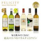 白ワインセット 毎日飲みたい!最高コスパワイン バラエティ 白ワイン 6本セット 第2弾 750ml×6 送料無料 wine set 包装不可 飲み比べ