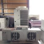 冷凍ユニット(5馬力) 三菱 冷凍機 ERA-EP37A ユニットクーラー UCR-P6VHB2 コントローラ RBS-P20HRA-Q 中古