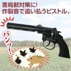 害鳥獣対策「音追いピストル」 本体