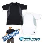 クールコアTシャツ 3枚組+クールコアタオルのおまけ付き