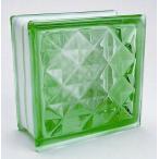 ブロックガラス 塀 壁飾りガラスブロック ダイヤモン