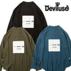 Deviluse Stand Color Shirts デビルユース 長袖シャツ