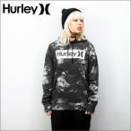 Hurley  パーカー(プルオーバー)      SURF CLUB ONE & ONLY NEBULA BOX    00AG(黒柄)     (ハーレー)(MTHSSOAB)(裏起毛)   (メンズサイズ)