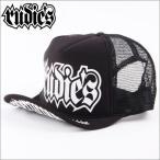 RUDIE'S メッシュCAP RUDIE'S  SPARK 黒x白ロゴ(ルーディーズ)