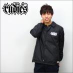 RUDIE'S コーチジャケット   SPARK   黒   (ルーディーズ)