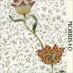 ウィリアムモリス 生地刺繍 ガーデン・チューリップ Garden Tulip AC-1
