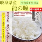 新米 龍の瞳(りゅうのひとみ) お米 いのちの壱 岐阜県産 1kg