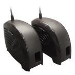 シューズ乾燥機 (コンセント/USB対応) M7510-BR ブラウン くつ乾燥機 靴乾燥機 脱臭 消臭 乾燥 におい ニオイ