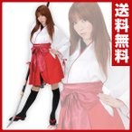 OUTLAW SWEET コスプレ 巫女着物/袴風スカート MJP-604 ハロウィン 制服 巫女服 みこ コスチューム 仮装 衣装 和服 大人