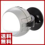 らくらくセンサーライト/LED 1灯/電池式/屋内外フレキシブル三脚タイプ DLB-600A シルバー センサーライト 人感センサー 玄関 照明 防犯ライト