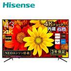 テレビ 43型 4Kテレビ 4Kチューナー内蔵液晶テレビ NEOエンジン搭載 HDR対応 外付けHDD録画対応 W裏番組録画対応 UHD 43E6000 メーカー保証3年 液晶テレビ