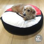 モンスターボール コットンクッション Mサイズ (直径約55cm) ペットベッド ペット用ベッド 犬 猫 クッション かわいい キャラクター おもしろ ポケモン