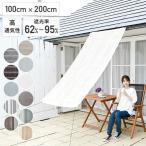 涼風シェード(1×2m)  BRGS-1020 目隠し 日よけ 日除け サンシェード 紫外線 ベランダ オーニングシェード
