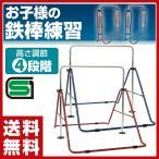 室内用 折りたたみ鉄棒 日本製 SGマーク付健康鉄棒DX (子供用/40kgまで) FM-1534 折り畳み鉄棒 子供用鉄棒 子ども用鉄棒 逆上がり練習 室内 キッズ