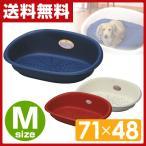 ペット用ベッド ファンタジスタ M71×48cm FS-2 ブルー/レッド/アイボリー ペットソファ ペット用ベッド ペットベッド ペットベット おしゃれ 小型犬 中型犬