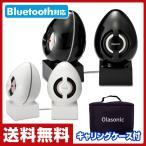 オラソニック(Olasonic) ステレオ高音質 Bluetooth モバイルスピーカー TW-BT55ST ノーブルブラック/ブリリアントホワイト Bluetoothスピーカー