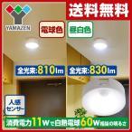LEDミニシーリングライト(人感センサー付) 白熱電球60W相当 MLC-S11 天井照明 LEDライト 照明器具【あすつく】【10%OFF除外品】
