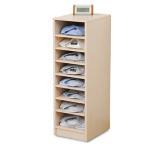 ショッピングカラー 多段カラーボックス CTB-9030 書類整理 シャツ収納 整理整頓 A4収納【あすつく】
