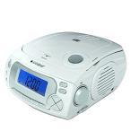 CDクロックラジオ CD-RC118 アラーム 目覚まし CD再生 ラジオ BGM