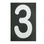 ショッピングBURNER ロードマーキング ナンバーS 3 RM-103 ロードマーキング用シート 数字 Sサイズ 3