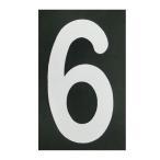 ショッピングBURNER ロードマーキング ナンバーS 6・9兼用 RM-106 ロードマーキング用シート 数字 Sサイズ 6 9