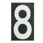ショッピングBURNER ロードマーキング ナンバーS 8 RM-108 ロードマーキング用シート 数字 Sサイズ 8