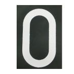 ショッピングBURNER ロードマーキング ナンバーL 0 RM-110 ロードマーキング用シート 数字 Lサイズ 0