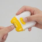 電動爪切り EL-40191 つめきり ツメ切り 電池式 コードレス 爪やすり ネイルケア【あすつく】
