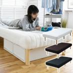 脚付きマットレス 一体型 高脚 ベッド下19cm シングル ベッド 長脚 脚付きマットレスベッド 脚付マットレス 脚つきマットレス 脚付きベッド【あすつく】