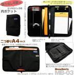 バッグインバッグ 男性用 二つ折りA4対応 ビジネスインナーバッグ