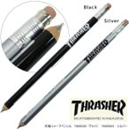THRASHER  スラッシャー 木軸シャープペンシル 0.5mm かっこいい